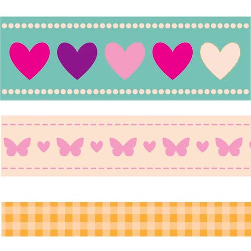 Kaisercraft - Butterfly Kisses Collection - Printed Ribbon