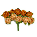 Kaisercraft - Paper Blooms - Mini - Flowers - Terracotta