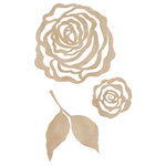 Kaisercraft - Flourishes - Die Cut Wood Pieces - Roses