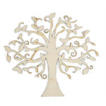 Kaisercraft - Flourishes - Die Cut Wood Pieces - Elm Tree