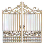 Kaisercraft - Flourishes - Die Cut Wood Pieces - Iron Gate