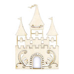 Kaisercraft - Flourishes - Die Cut Wood Pieces - Fairy Castle