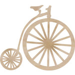 Kaisercraft - Flourishes - Die Cut Wood Pieces - Pennyfarthing