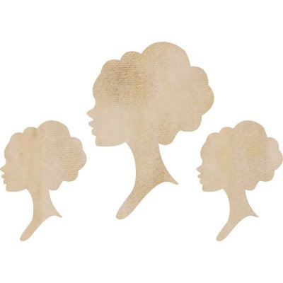 Kaisercraft - Flourishes - Die Cut Wood Pieces - Cameo Pack