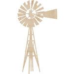 Kaisercraft - Flourishes - Die Cut Wood Pieces - Windmill