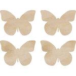 Kaisercraft - Flourishes - Die Cut Wood Pieces - Butterflies