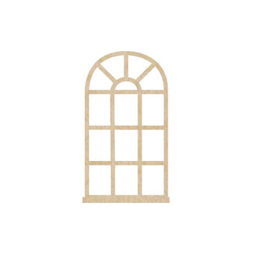 Kaisercraft - Flourishes - Die Cut Wood Pieces - Oval Window