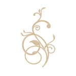 Kaisercraft - Flourishes - Die Cut Wood Pieces - Vines