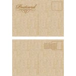 Kaisercraft - Flourishes - Die Cut Wood Pieces - Postcards