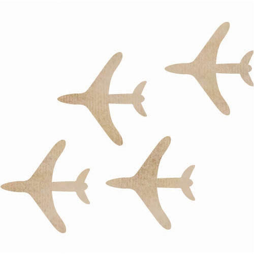 Kaisercraft - Flourishes - Die Cut Wood Pieces - Planes