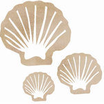 Kaisercraft - Flourishes - Die Cut Wood Pieces - Clam Shell