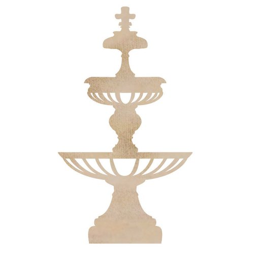 Kaisercraft - Flourishes - Die Cut Wood Pieces - Birdbath