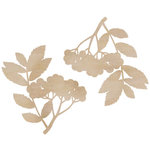 Kaisercraft - Flourishes - Die Cut Wood Pieces - Twig and Berries