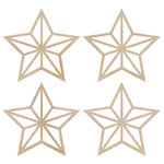 Kaisercraft - Flourishes - Die Cut Wood Pieces - Mini Stars