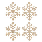 Kaisercraft - Flourishes - Die Cut Wood Pieces - Mini Snowflakes