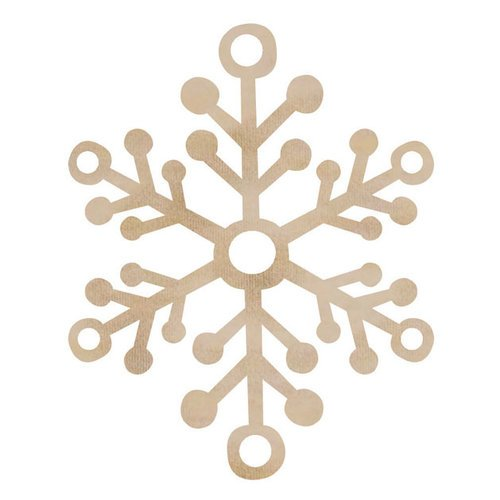 Kaisercraft - Flourishes - Die Cut Wood Pieces - Large Snowflake