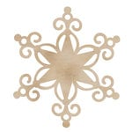 Kaisercraft - Flourishes - Die Cut Wood Pieces - Large Star