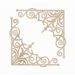 Kaisercraft - Flourishes - Die Cut Wood Pieces - Intricate Corners