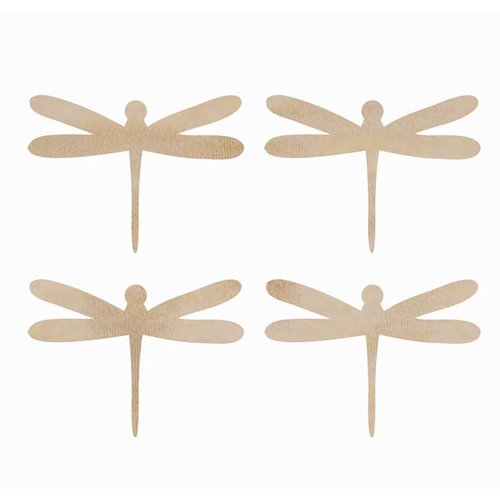 Kaisercraft - Flourishes - Die Cut Wood Pieces - Dragonflies