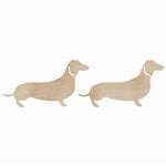 Kaisercraft - Flourishes - Die Cut Wood Pieces - Sausage Dog