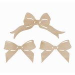 Kaisercraft - Flourishes - Die Cut Wood Pieces - Bows