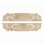 Kaisercraft - Flourishes - Die Cut Wood Pieces - Long Door Plaques