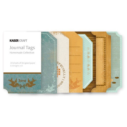 Kaisercraft - Homemade Collection - Journal Tags