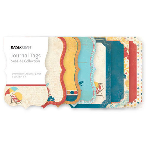 Kaisercraft - Seaside Collection - Journal Tags