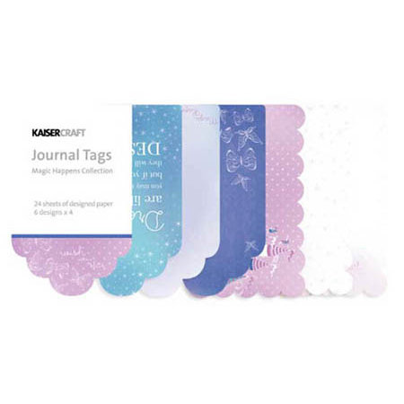 Kaisercraft - Magic Happens Collection - Journal Tags