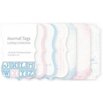 Kaisercraft - Lullaby Collection - Journal Tags