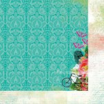 Kaisercraft - Secret Admirer Collection - 12 x 12 Double Sided Paper - Demure