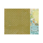 Kaisercraft - Marigold Collection - 12 x 12 Double Sided Paper - Lemon