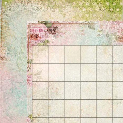 Kaisercraft - 365 Days Collection - 12 x 12 Double Sided Paper - Schedule