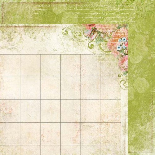 Kaisercraft - 365 Days Collection - 12 x 12 Double Sided Paper - Appointment