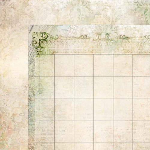 Kaisercraft - 365 Days Collection - 12 x 12 Double Sided Paper - Organize