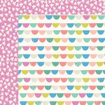 Kaisercraft - Suga Pop Collection - 12 x 12 Double Sided Paper - Rock Candy