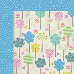 Kaisercraft - Suga Pop Collection - 12 x 12 Double Sided Paper - Cotton Candy