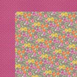 Kaisercraft - Flora Delight Collection - 12 x 12 Double Sided Paper - Enchanting