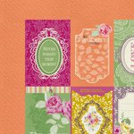 Kaisercraft - Flora Delight Collection - 12 x 12 Double Sided Paper - Reflections