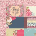 Kaisercraft - Lulu and Roy Collection - 12 x 12 Double Sided Paper - Splendid