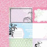 Kaisercraft - Lavender Haze Collection - 12 x 12 Double Sided Paper - Orchid