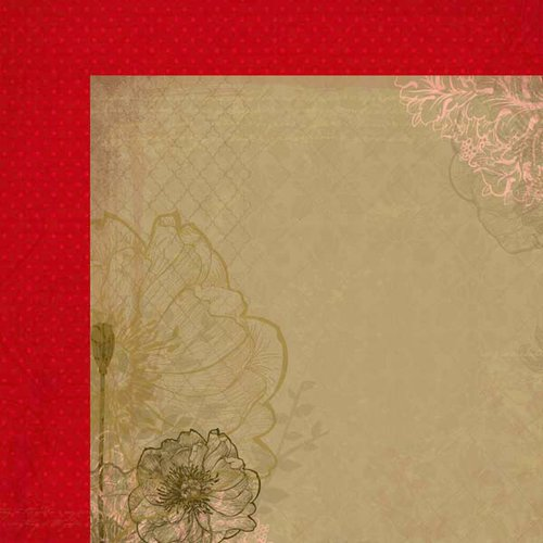 Kaisercraft - Remember Me Collection - 12 x 12 Double Sided Paper - Ava