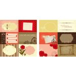 Kaisercraft - Remember Me Collection - 12 x 12 Double Sided Paper - Adeline