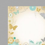 Kaisercraft - Elegance Collection - 12 x 12 Double Sided Paper - Flight of Fancy
