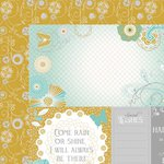 Kaisercraft - Elegance Collection - 12 x 12 Double Sided Paper - Thoughts