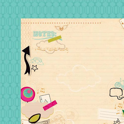Kaisercraft - Hopscotch Collection - 12 x 12 Double Sided Paper - Fab
