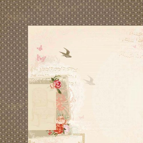 Kaisercraft - On This Day Collection - 12 x 12 Double Sided Paper - First Dance