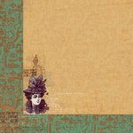 Kaisercraft - Miss Empire Collection - 12 x 12 Double Sided Paper - Influence