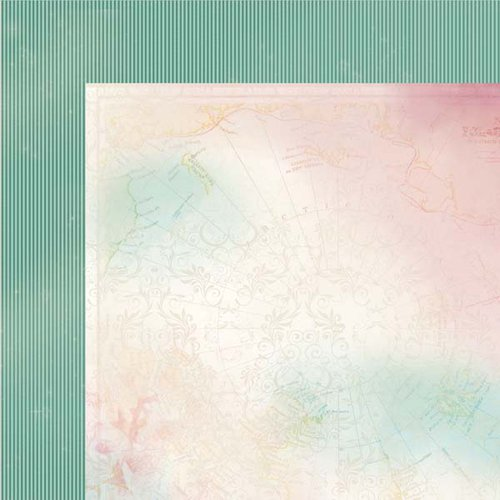 Kaisercraft - Enchanted Garden Collection - 12 x 12 Double Sided Paper - Mesmerize