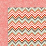 Kaisercraft - Sweet Pea Collection - 12 x 12 Double Sided Paper - Peachy Keen